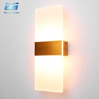 Mooi Moderne Led Acryl Wandlamp  1