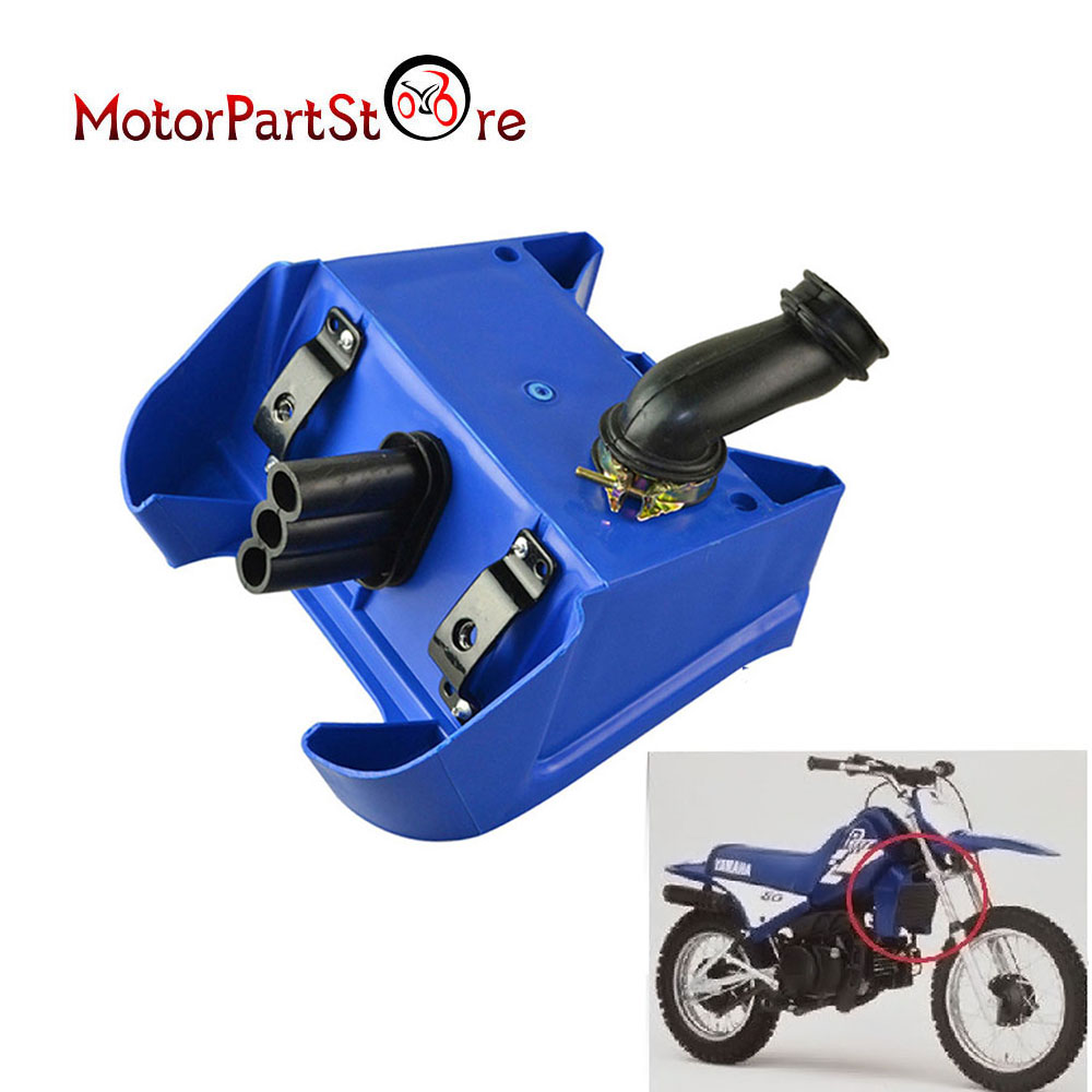 White Motorcycle Air Box Filter Assembly for Yamaha PW80 PY80 Scooters ATV