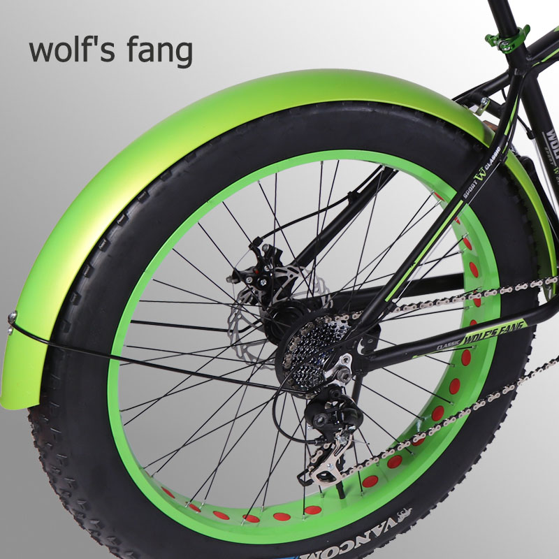 wolf's fang Bicycle Mountain bike road Snow fat bikes Accessories fender Full coverage New product free shipping|fenders| |  - title=