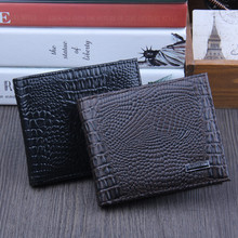 Men Bifold Business Leather Wallet ID Credit Card Holder Pur