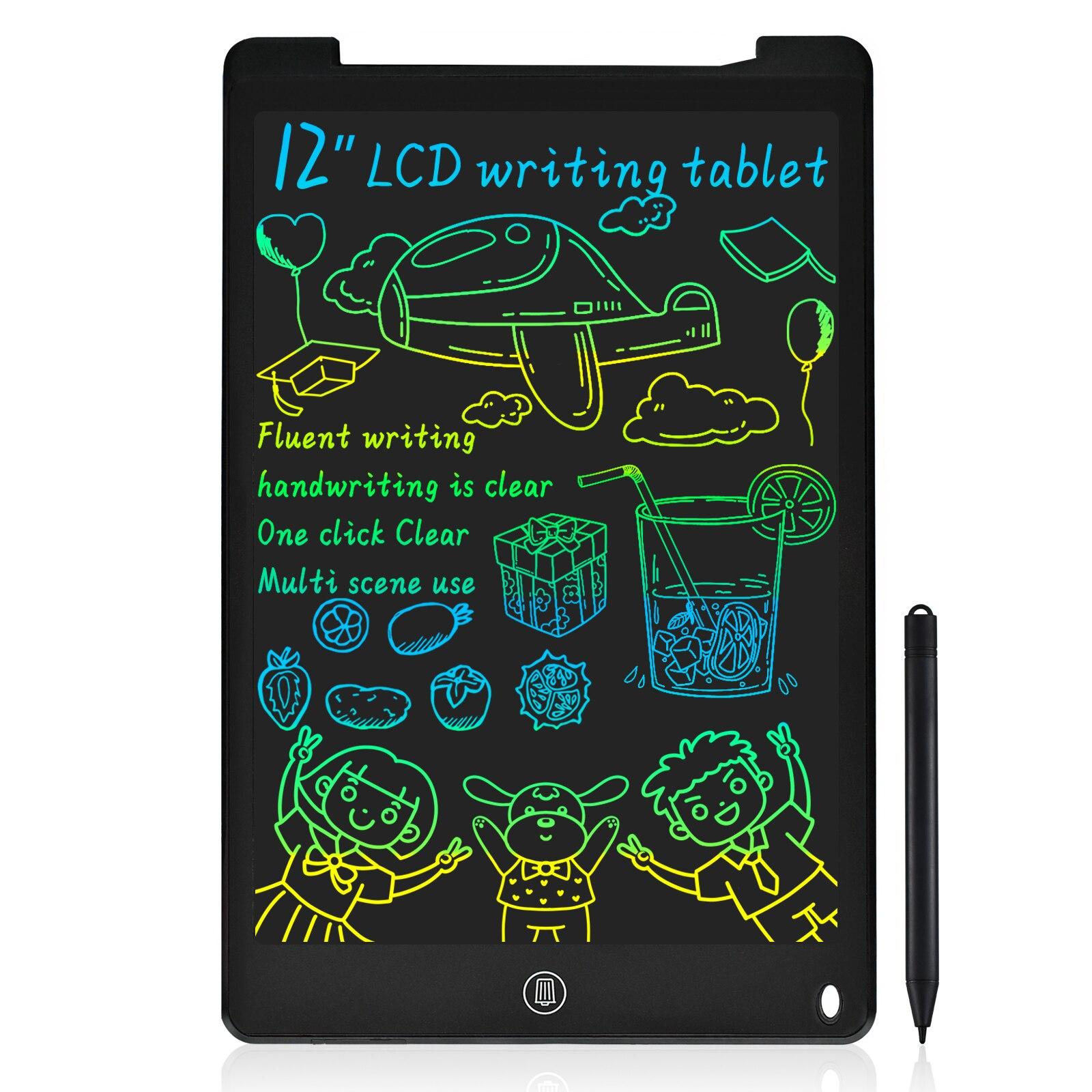 8,5/12 дюймовый стираемый, многоразовый ЖК-планшет для письма, Notespad, доска для рисования с цветным экраном, персонализированный подарок для де...