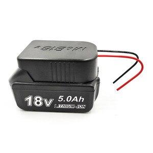 Image 4 - Прочный литий ионный аккумулятор конвертер для DIY Кабель выходной адаптер для Makita 18 в для Bosch 18 В литиевая батарея конвертер аксессуары