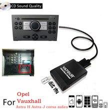 Yatour USB SD AUX Автомобильный MP3 плеер интерфейс радио цифровой CD Changer адаптер для Opel Antara, Astra H, Astra J, Corsa D, Combo B