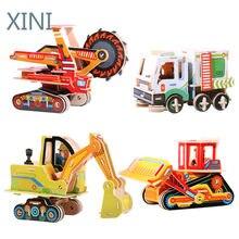 Crianças 3d quebra-cabeça quebra-cabeças de tráfego brinquedo do bebê criança aprendizagem precoce brinquedos educativos para crianças brinquedos educativos