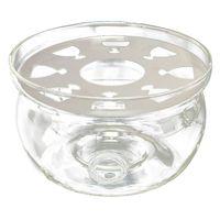 Heat Resisting Teapot Warmer Base Clear Glass Round Shape Insulation Tealight|Teapots| |  -
