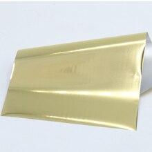 Светильник из фольги золотого горячего тиснения, голографический ламинатор для художественного Ремесла, Рождественская подарочная оберточная бумага 8x15cm