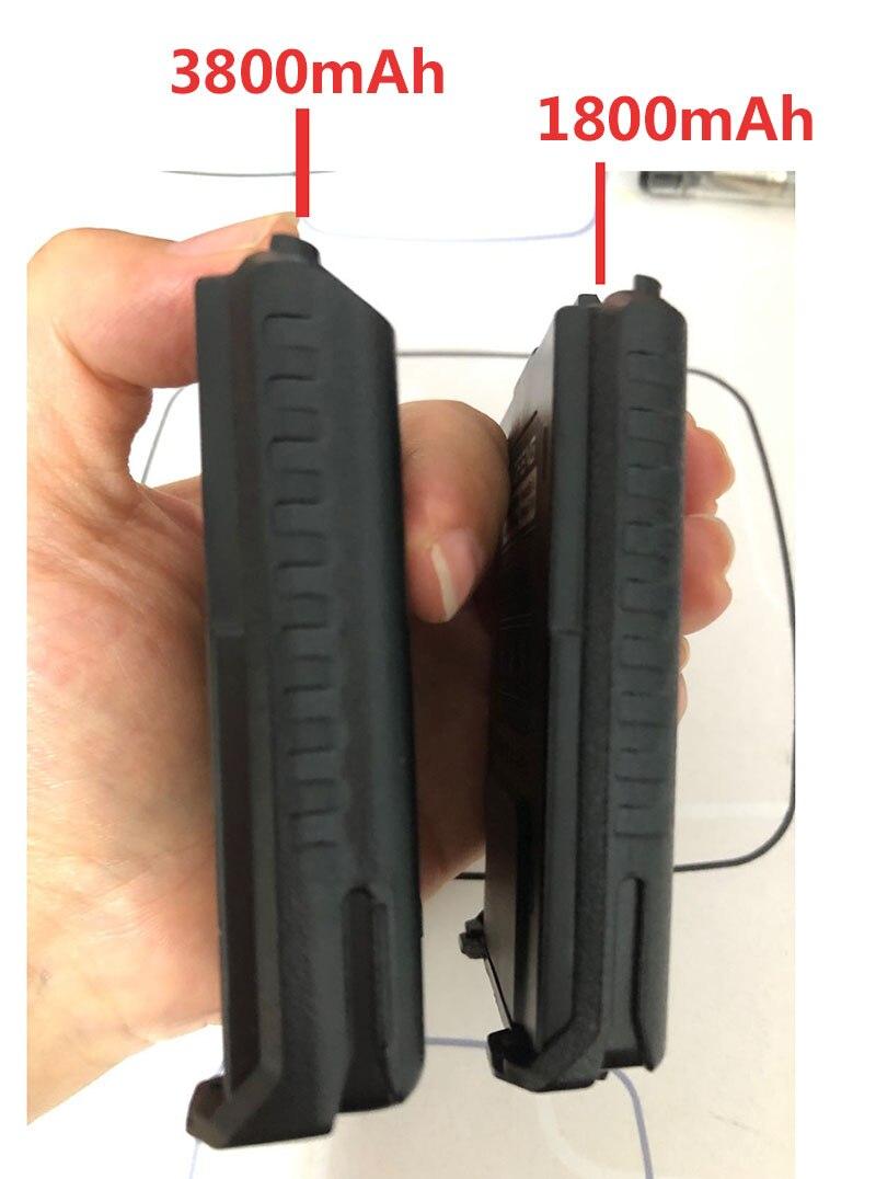 Original Baofeng UV-5R Walkie Talkie Large Capacity Battery BL-5L 7.4v 3800mAh For BF-F8 UV-5RA UV-5RE DM-5R UV5R UV5RE Charger (4)