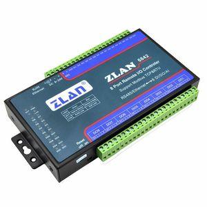 Placa de módulo RTU ZLAN6842 Modbus RS485 RJ45 Ethernet de 8 canales DI AI DO I/O