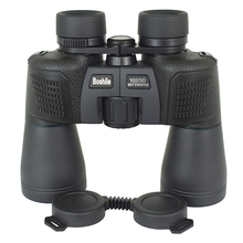 High quality Powerful Binoculars boshile 10x50 Camping Telescope Waterproof Binoculars bak4 FMC Coating Lens Military Hunting стоимость