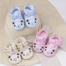 Buy Autumn Baby Shoes 0-1 Year Learn To Walk Front Soft Sole Of Shoes Ventilation Comfortable Child Shoe Woman Baby Shoe directly from merchant!