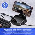 Мобильный телефон PUBG геймпад контроллер мыши конвертер клавиатуры для планшетов Iphone IOS Android Battledock Bluetooth адаптер