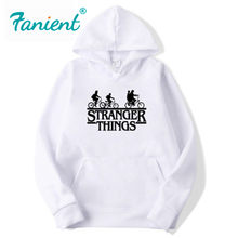 2020 Trendy Faces 낯선 것들 Hooded Mens Hoodies and Sweatshirts 힙합으로 가을을 위해 특대 Winter Hoodies Men Brand(China)
