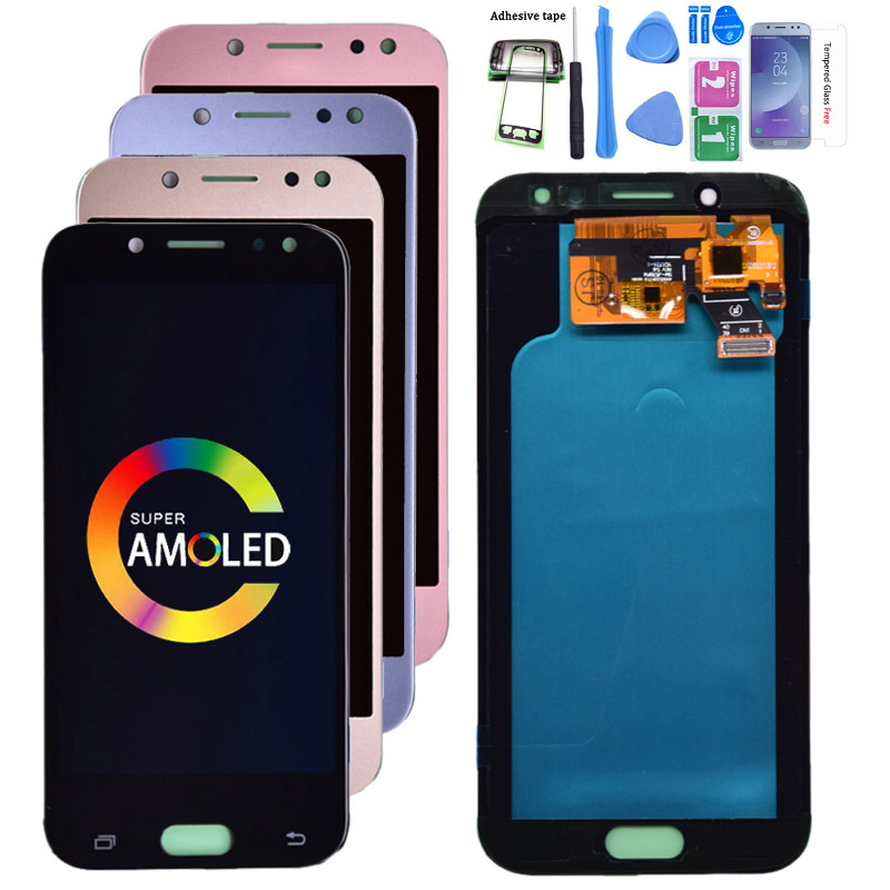 Super Amoled LCD For Samsung Galaxy J5 Pro 2017 J530 J530Y J530F LCD Display With Touch Screen Digitizer Assembly