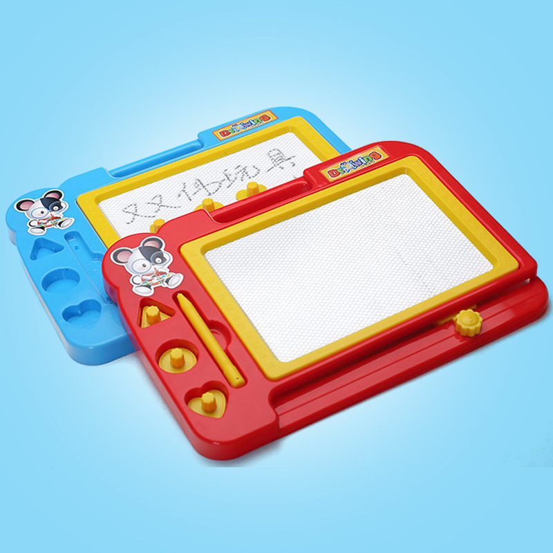 Children Plastic Magnetic Drawing Board Graffiti Writing Board Infants Boys And Girls Early Education Toy Gift