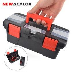 Newacalox Gereedschapskist Met Handvat Compartiment Opslag Organisatoren Toolbox Voor Hardware Tool Soldeerbout Accessoires Toolcase