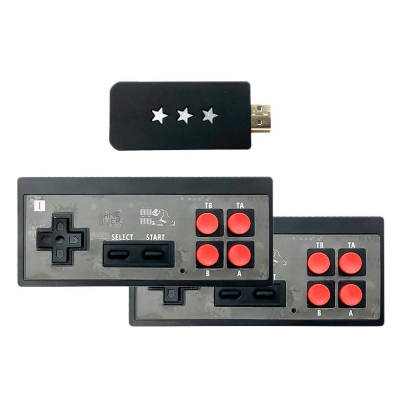 Retro Mini Game Console HDMI TV Game Console Y2 HD Game Console Wireless Doubles Game Console Built-in 621 Games