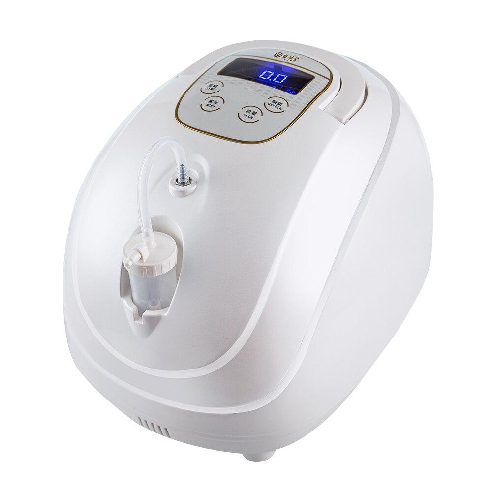 AC110V/220 V Регулируемый концентратор кислорода Portabl машина генератор очиститель воздуха дома не питание от аккумулятора