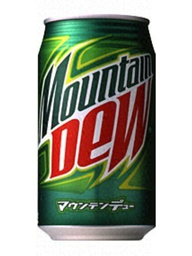 Suntory Mountain Dew Lattine 350ml1 Scatole 24