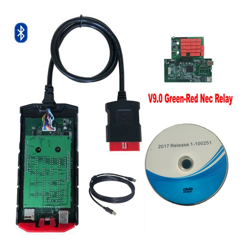 2020 Original shell Latest 2017 R0 new vci scan for delphis VD DS150E CDP VDIJK Autocoms pro with bluetooth OBD2 diagnostic tool
