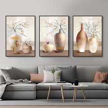 Abstract Painting Poster Nordic Decoration Home Wall Art Flower Vase Posters And Prints Decorative Pictures