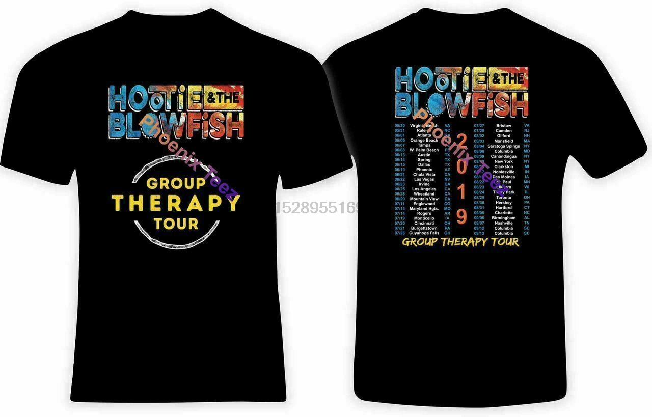 New Hootie and the Blowfish 2019 Group Therapy Tour T shirt S to 5xl men/'s