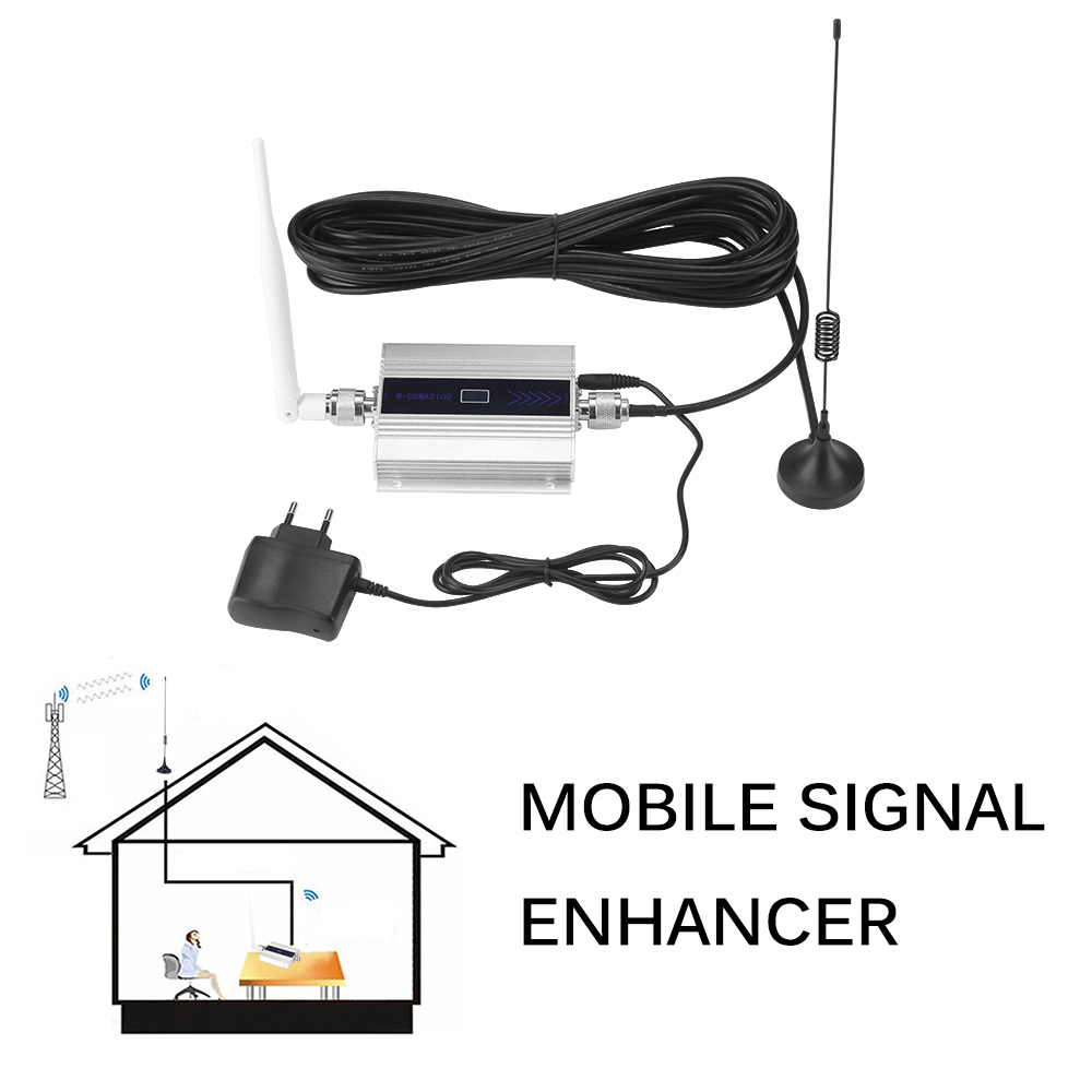 900mzh Signal Booster Repeater Amplifier Antenna Phone Powstro Signal Boosters Home Office Malls Fireproof Explosion-Proof EU