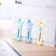 Students Knife 2022 Safe Cartoon Knife Color Deer Paper Cutter Office supplies classroom stationery(China)