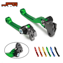 CNC Pivot Foldable Clutch Brake Lever For KAWASAKI KX125 KX250 KX 125 250 KX250F KX450F KXF 250 450 KD 200 220 KDX200 KDX220 gift oil seal 1pair new motorcycle engine parts valve stem for kawasaki kx250f kx 250f kx250 f kx 250 f kxf250 kxf 250 2009 16