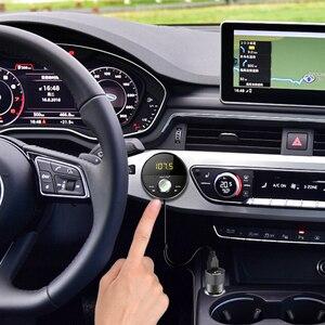 Image 2 - Deelife Bluetooth AUX מתאם במכונית דיבורית ערכת BT 5.0 אודיו מקלט עבור אוטומטי טלפון ידיים משלוח Carkit FM משדר