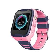 цена на 2020 New High Quality Smart kids watch 4G IP67 waterproof Wifi GPS SOS Smart Watch Alarm Clock Camera Baby Portable Smartwatch
