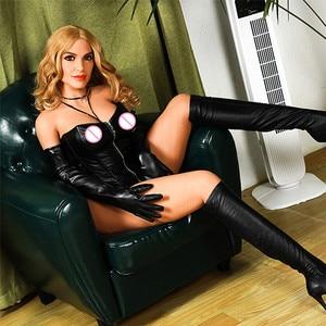 Image 3 - 167 ซม.(5.47ft) TPE Sex ตุ๊กตาตุ๊กตาใหญ่สีบลอนด์ Nerd Cool สาว Stripper ขนาดใหญ่ตูดช่องคลอดประดิษฐ์จริงขนาดอเมริกันซิลิโคนเพศตุ๊กตา