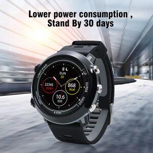 Image 5 - Smart GPS Laufen Sport Uhr mit farbe display und handgelenk basierend herz rate outdoor 5ATM Wasserdichte EZON E2