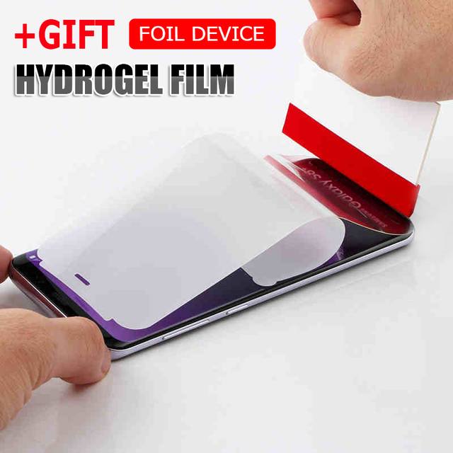 Full Cover Hydrogel Film For Samsung Galaxy S9 S8 PLus Screen Protector For Samsung S7 S6 Edge Note 8 Protective Film Not Glass