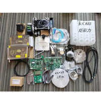 Jucaili large printer upgrade board kit for dx5/dx7 convert to xp600 single head kit whole set for eco solvent printer