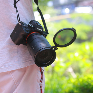 Image 2 - UURig RFS ND Filter Quick Release DSLR Camera Accessory Quick Switch Bracket for 58mm 67mm 72mm 77mm 82mm DSLR Lens Adapter Flip
