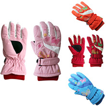 Gloves Winter Ski-Skating Warm Outdoor Cold Children's New Fasion Sagace Butterfly