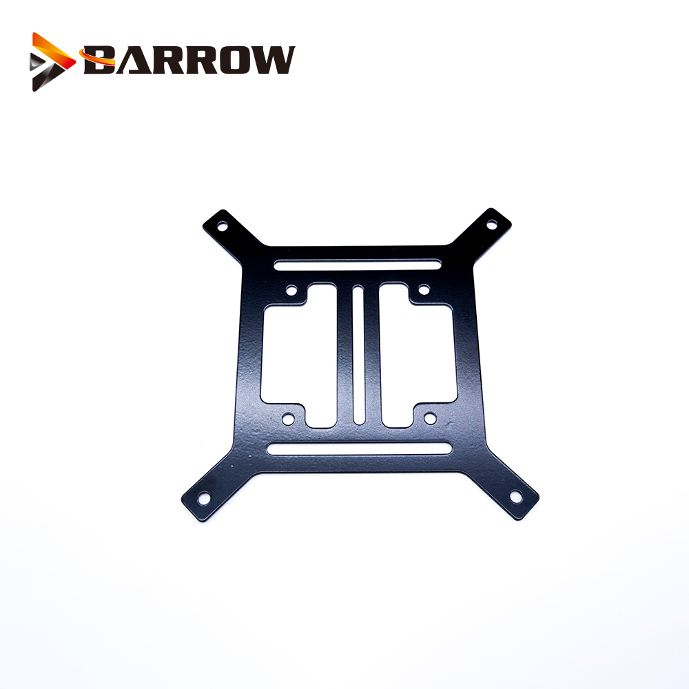 BARROW Radiator Metal Flat bracket Water coolant tank pump size 12cm fan 120X120X1.3mm