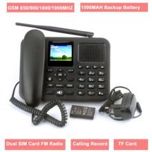 Стационарный gsm телефон с цветным ЖК дисплеем и двумя sim картами