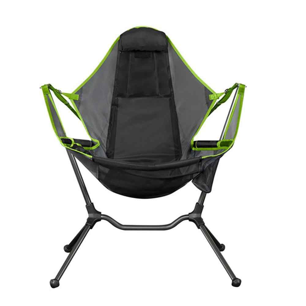 Camping Swinging Chair Relaxing Luxury Foldable Folding Chairs Rocker Recliner Outdoor Relaxed Stargaze Camp Chair Aliexpress