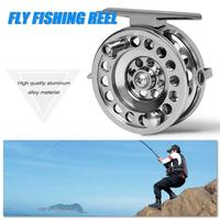 Ice Fishing Reels Full Aluminum Fishing Reel 50/60mm Fly Fishing Reels Gear ratio 1:1 Right Hand Fishing Tackle