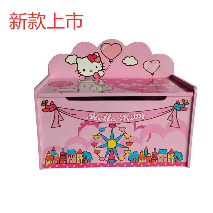 Large Children's Toys Storage Lockers Baby Toolbox Cute Cartoon Clothes Books Toys Sorting Cabinet