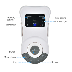 Image 2 - Soins du nez, soulagement des allergies, Laser basse fréquence, dispositif de traitement Anti ronflement, appareil de Massage