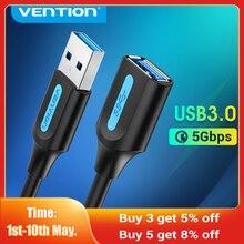 Tions USB Verlängerung Kabel USB 3,0 Kabel Männlich zu Weiblich USB 3,0 2,0 Extender Kabel für Smart TV SSD Xbox ein USB Kabel Verlängerung