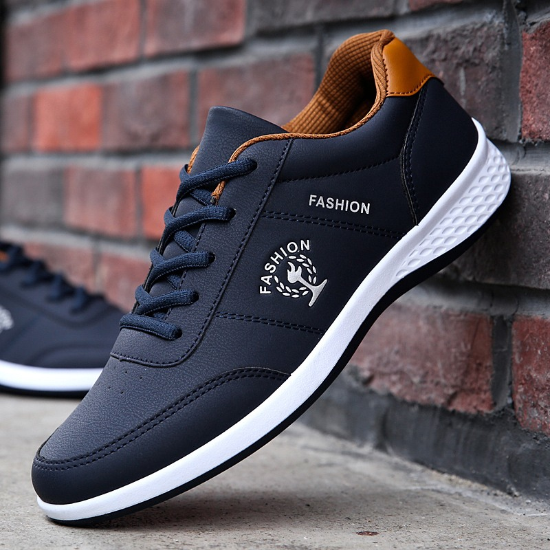 Shoes Mens Fashion Sneakers Spring Autumn Casual Loafers Student Outdoor Trend Skateboarding Shoes Track Field Walking Promotion