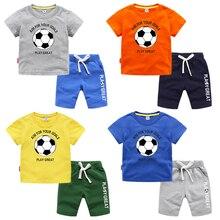 2020 NEW children Baby Boys clothes Sets cotton Tops+pants 2