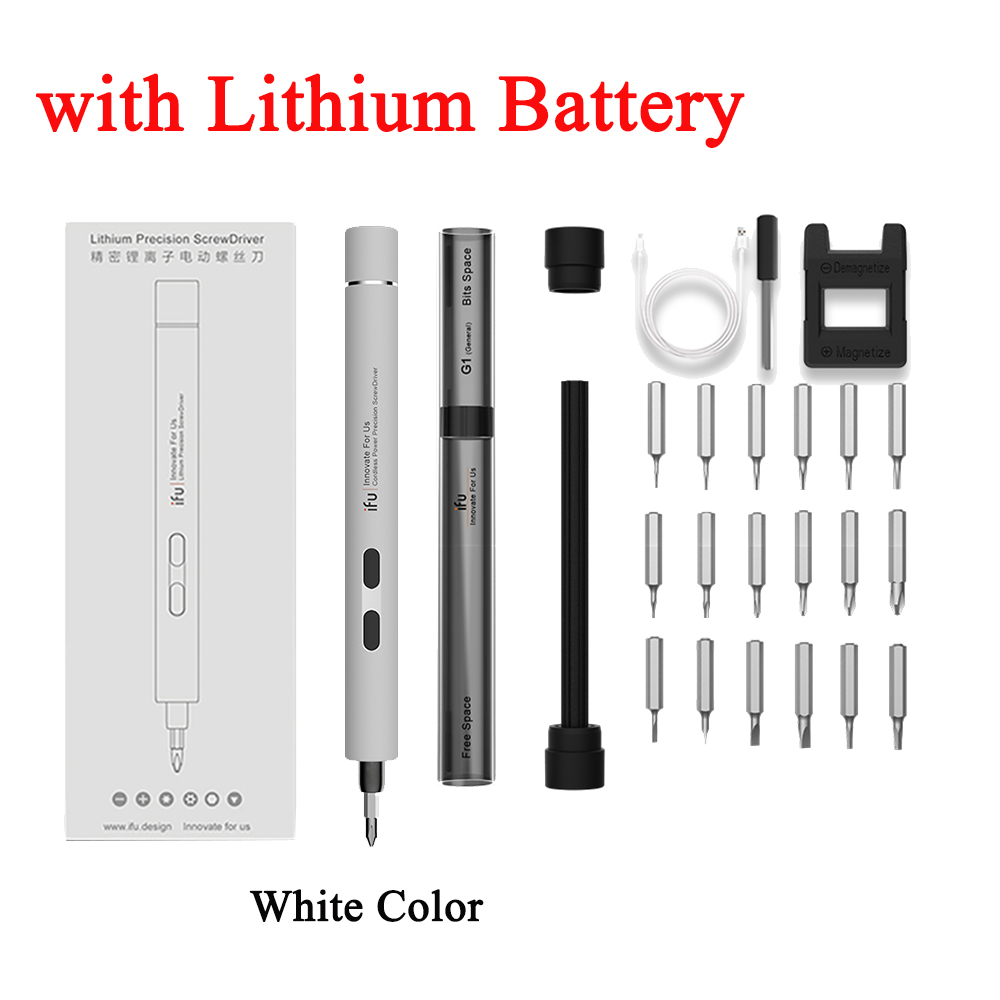 white with Battery