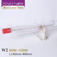 Startnow Reci W2 Laser Tube CO2 Lamp 90W 100W S2 Z2 Wooden Box Packing For 80W CO2 Laser Engraving Cutting Machine Spare Parts