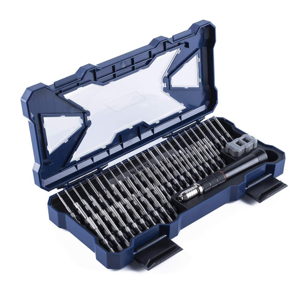 Nanch Ultimate Pro Tech Repair Toolkit-56 In 1 Precision Screwdriver Bit Tool Set For Laptop PC Phones