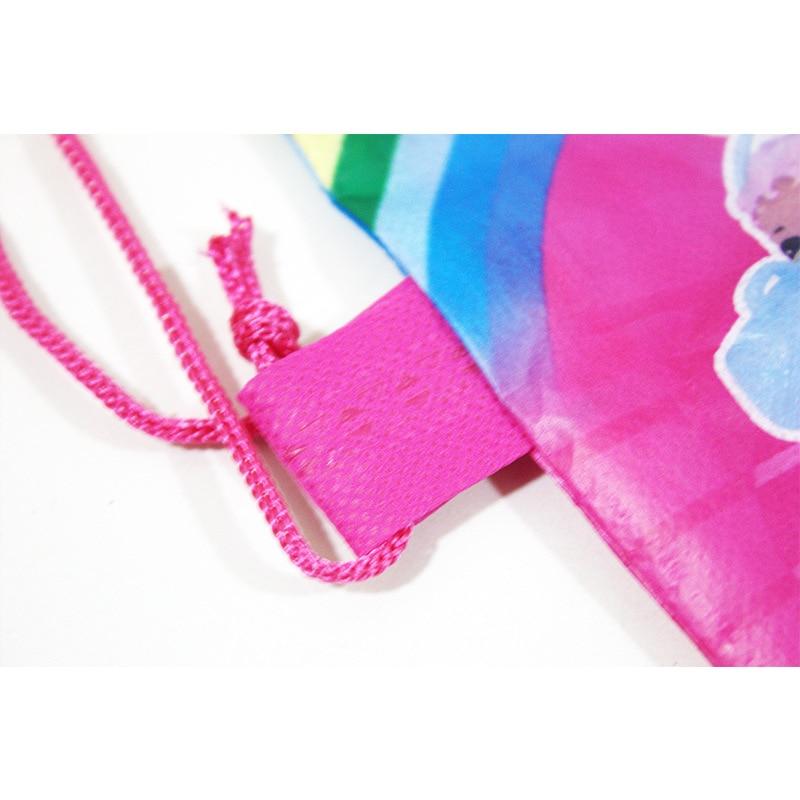 1 pc Original Bundle Pocket Storage Bag Non-woven Fabric Shopping Bag lol surprise dolls Anmie Figure Toys for Children-4