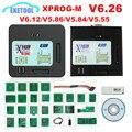 USB-ключ XPROG V6.26 V6.12 V6.17 V5.86 V5.55 с полным адаптером  лучше  чем XPROG V5.60/V5.55/V5.0 X prog Metal Box